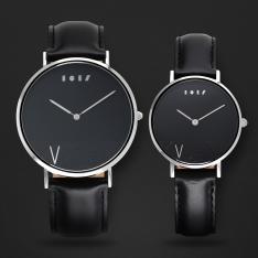 طقم ساعة آن أسود ومينا أسود ML110202