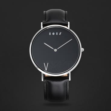 ساعة آن أسود ومينا أسود P01M110202