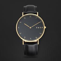 ساعة آن أسود ومينا أسود S01M010202
