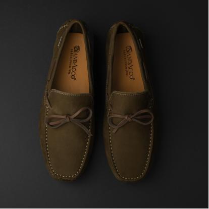 حذاء موكاسين أخضر داكن نوبوك 9819
