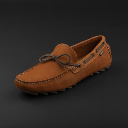 حذاء موكاسين برتقالي داكن نوبوك 9819