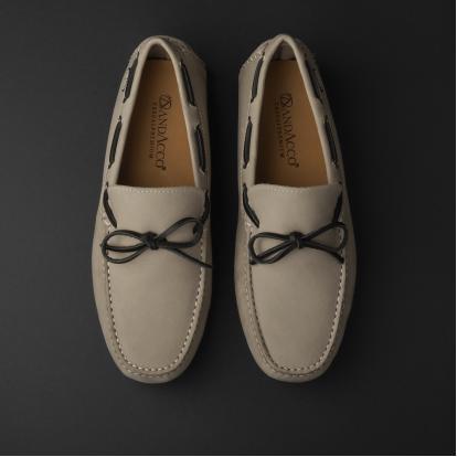 حذاء موكاسين رمادي نوبوك 9819