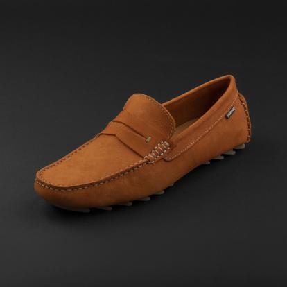 حذاء موكاسين برتقالي نوبوك 9823