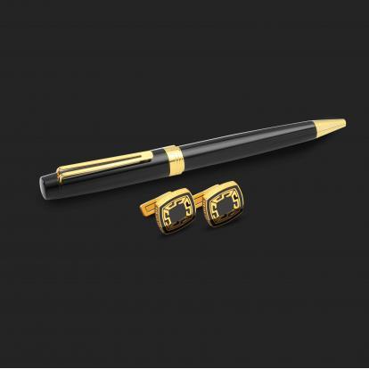 طقم قلم وكبك الدهنج D2121BG