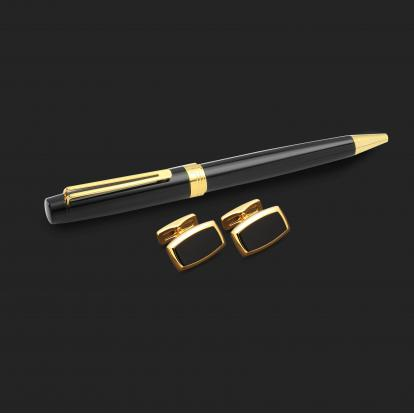 طقم قلم وكبك الدهنج D2124BG