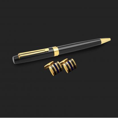 طقم قلم وكبك الدهنج D2125BG