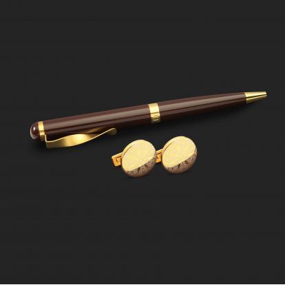 طقم قلم وكبك الدهنج D2135NG