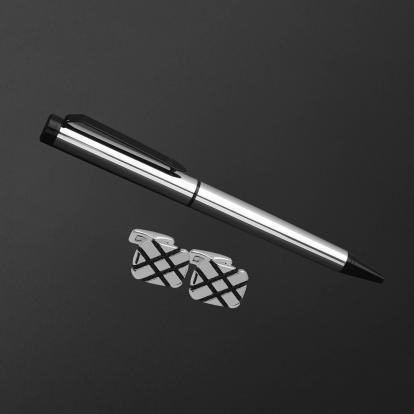 طقم قلم وكبك الدهنج D2142SB