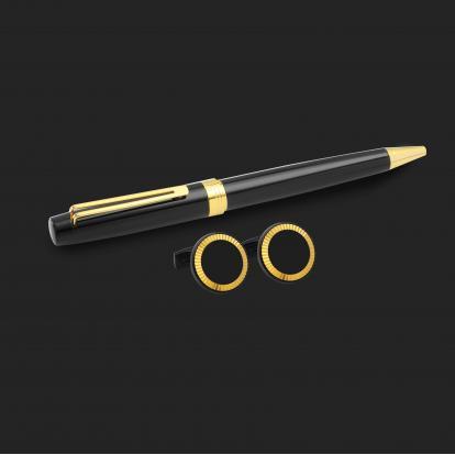 طقم قلم وكبك الدهنج D2150BG