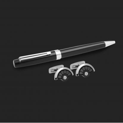 طقم قلم وكبك الدهنج D2154BS