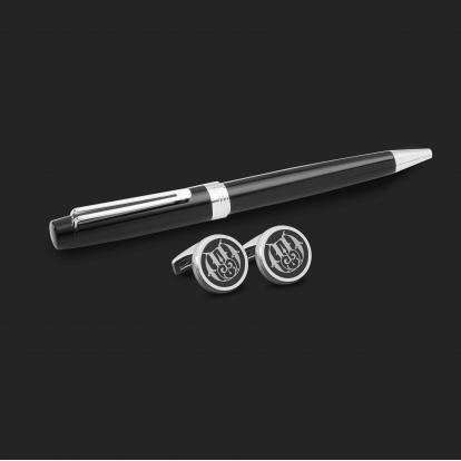 طقم قلم وكبك الدهنج D2175BS