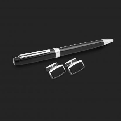 طقم قلم وكبك الدهنج D2176BS