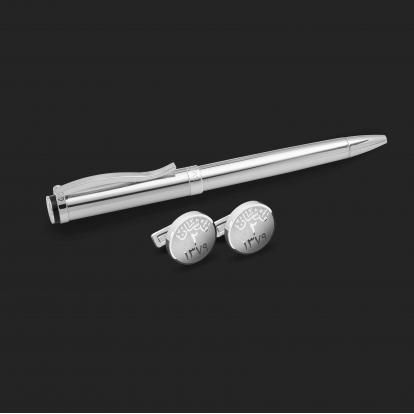 طقم قلم وكبك الدهنج D2178SS