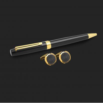 طقم قلم وكبك الدهنج D2190BG