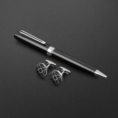 طقم قلم وكبك الدهنج D2115BS