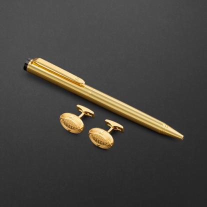طقم قلم وكبك الدهنج D2133GG