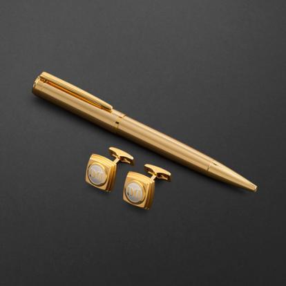 طقم قلم وكبك الدهنج D2136GG