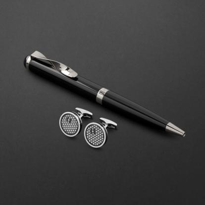طقم قلم وكبك الدهنج D2153BS