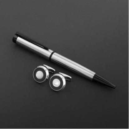 طقم قلم وكبك الدهنج D2157SB