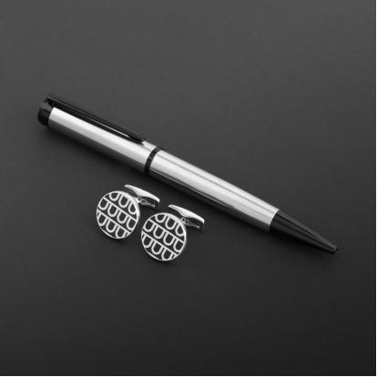 طقم قلم وكبك الدهنج D2163SB