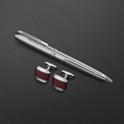 طقم قلم وكبك الدهنج D2168SS