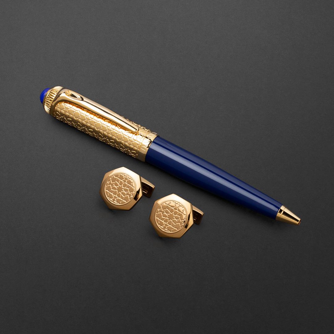 طقم قلم وكبك الدهنج D9112GU