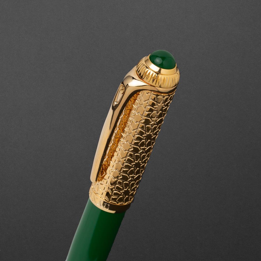 طقم قلم وكبك الدهنج D9122GGR
