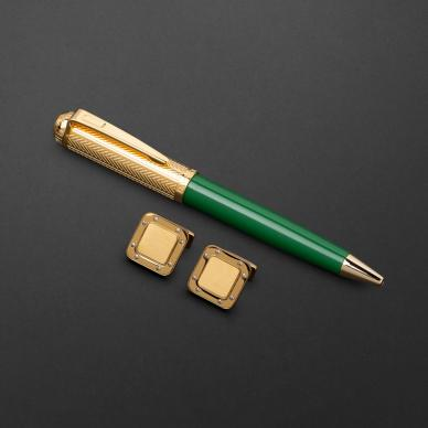 طقم قلم وكبك الدهنج D9133GGR