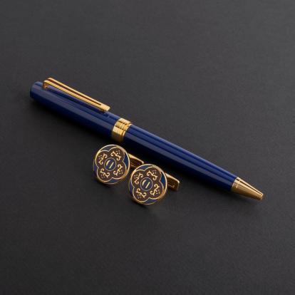 طقم قلم وكبك الدهنج D8020PG