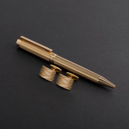 طقم قلم وكبك الدهنج D8029GG