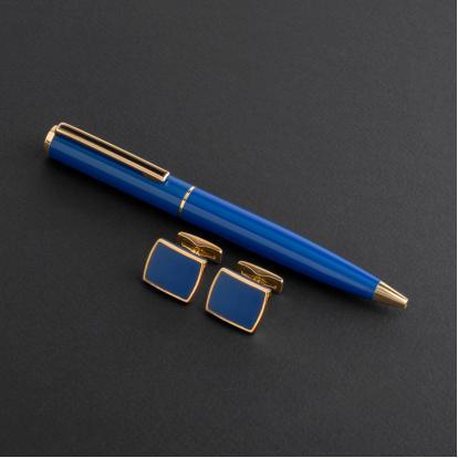 طقم قلم وكبك الدهنج D8053PG