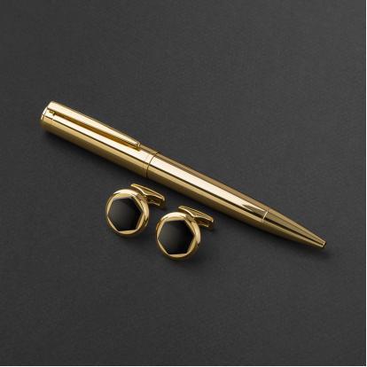 طقم قلم وكبك الدهنج D9011BG