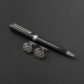 طقم قلم وكبك الدهنج D9048BS