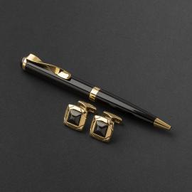 طقم قلم وكبك الدهنج D9071BG