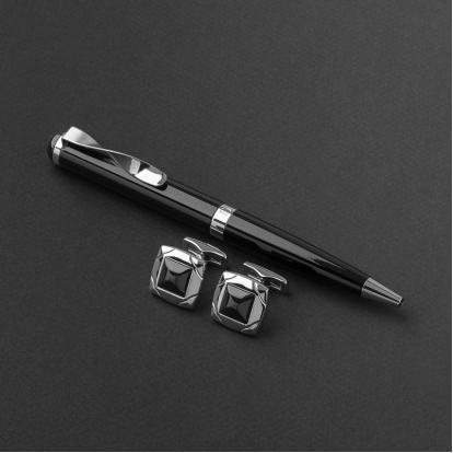 طقم قلم وكبك الدهنج D9072BS