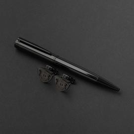 طقم قلم وكبك الدهنج D9078BB