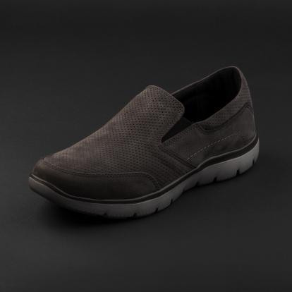 حذاء لوفر رمادي نوبوك 3100