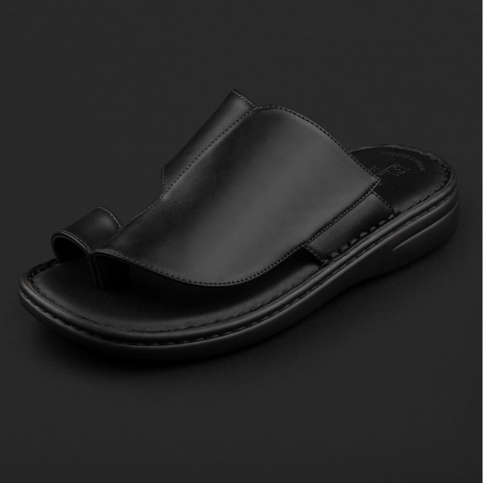 صندل جلد أسود TR-1201IT