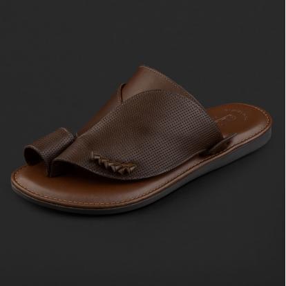 حذاء شرقي مخرم بني GN152