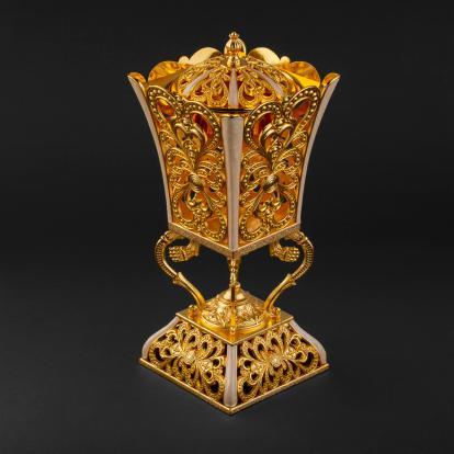 مبخرة ذهبية G-1016LE