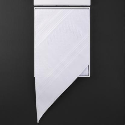 شماغ كهرمان أبيض KA-539