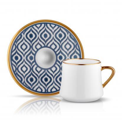 طقم فناجين قهوة ايكات كويل كبير 0305