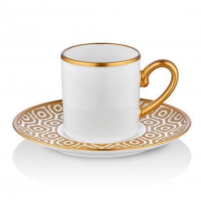 طقم فناجين قهوة مراكش قولد 0616
