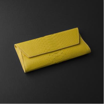 محفظة نسائية جلد ثعبان LW31PYYS