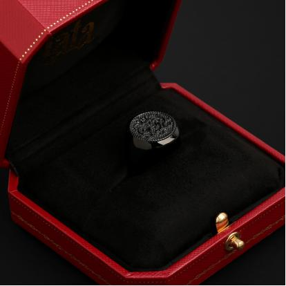 خاتم أسود RSS948BB
