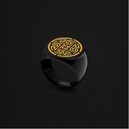 خاتم أسود INR222DBG