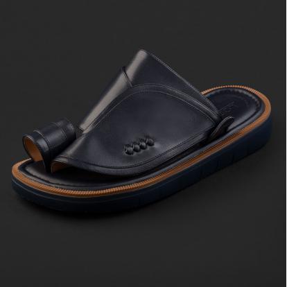 حذاء شرقي كلاسيكي كحلي داكن 2212