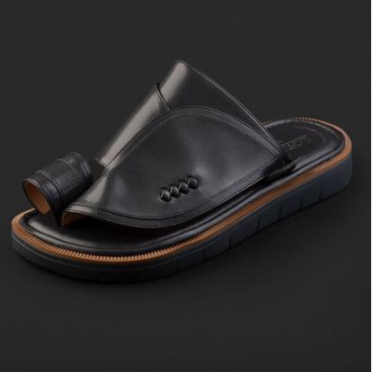 حذاء شرقي كلاسيكي رمادي داكن 2212