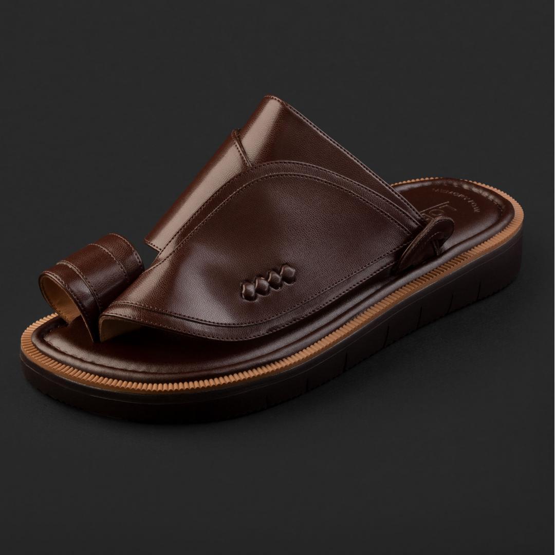 حذاء لورمان شرقي كلاسيكي بني داكن 2212