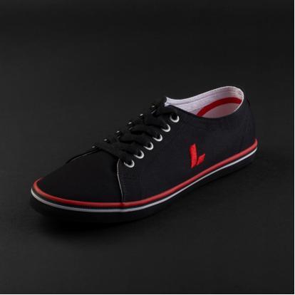 حذاء لورمان أسود بأربطة 2339
